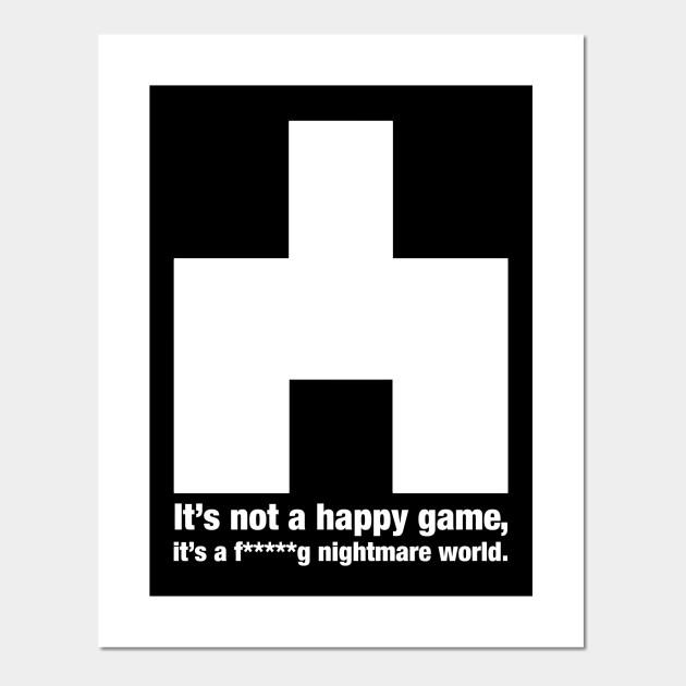 White Christmas Black Mirror Poster.Bandersnatch Game