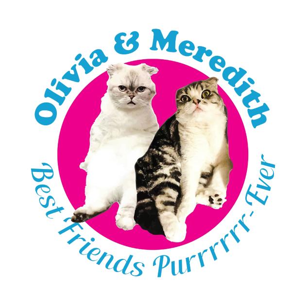 Olivia & Meredith Best Friends Purrrever