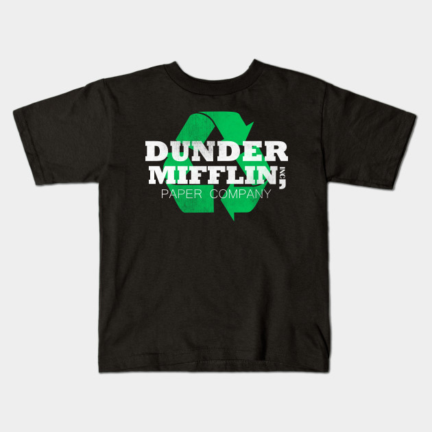 121e74749a276 The Office Dunder Mifflin Recycle Comfortable T-Shirt - Dunder ...