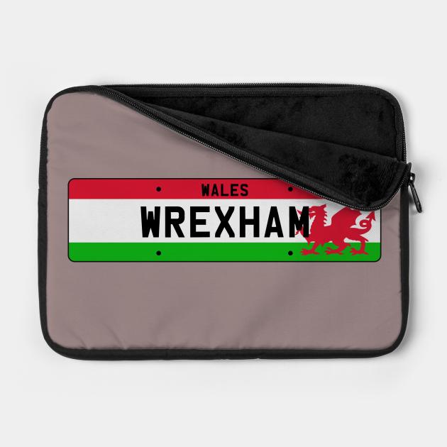 Wrexham License Plate