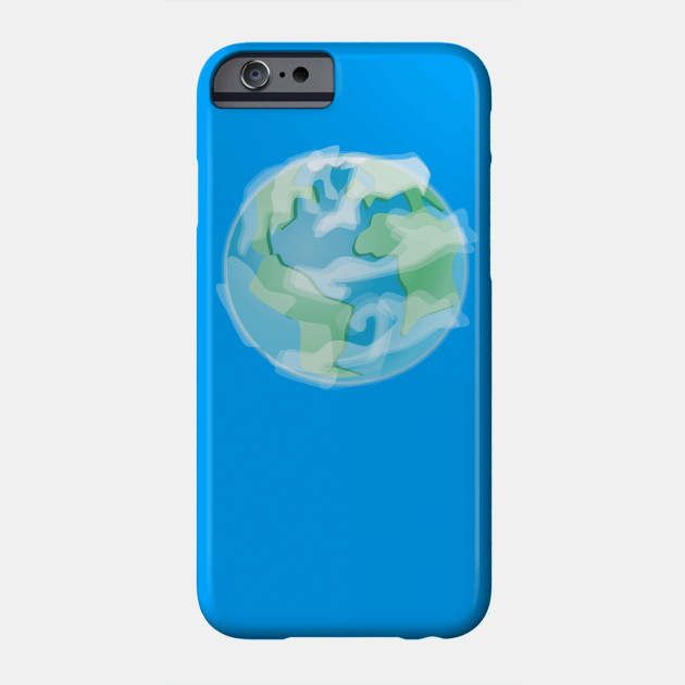 Earth save the planet Phone Case