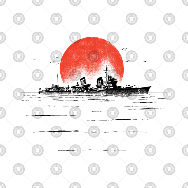 0cf01152a Japanese Ship - Ww2 - T-Shirt | TeePublic