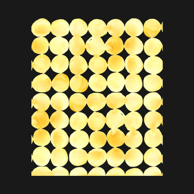 Imperfect Geometry Yellow Circles