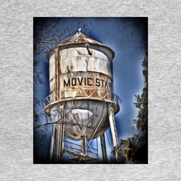Movie Star Water tower Poplarville Mississippi