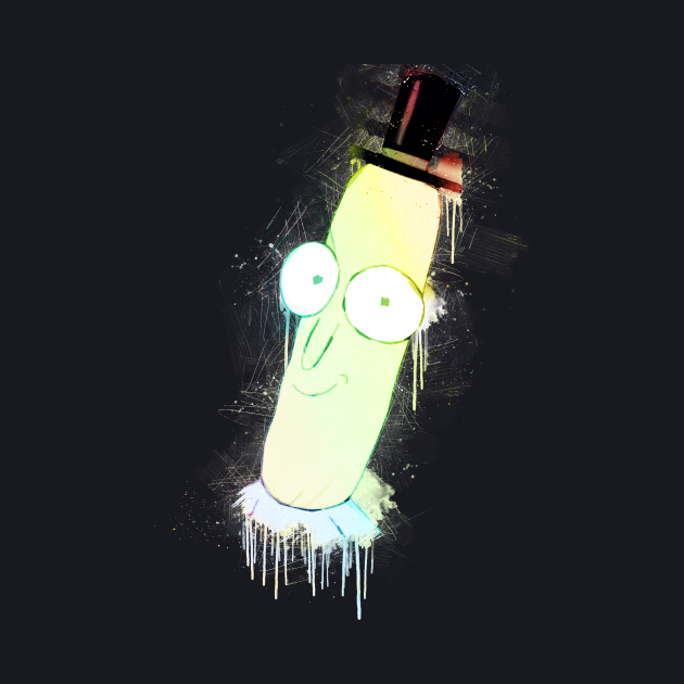Mr. Poopy Butthole Street Art Painting