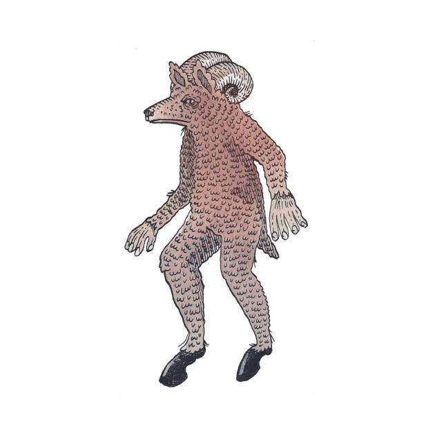 Sheepsquatch Cryptid Monster
