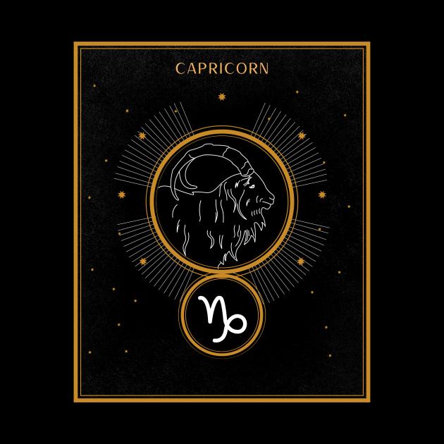 Capricorn | Astrology Zodiac Sign Design