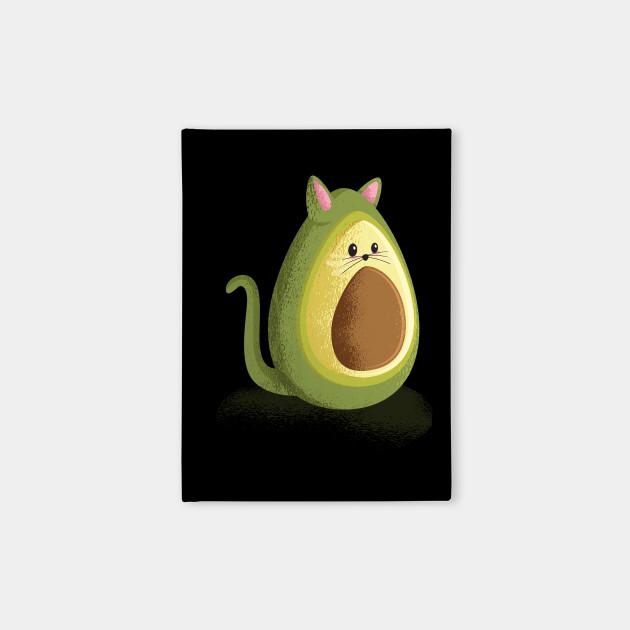 Avocado cat t-shirt cute cat avocado lover tee