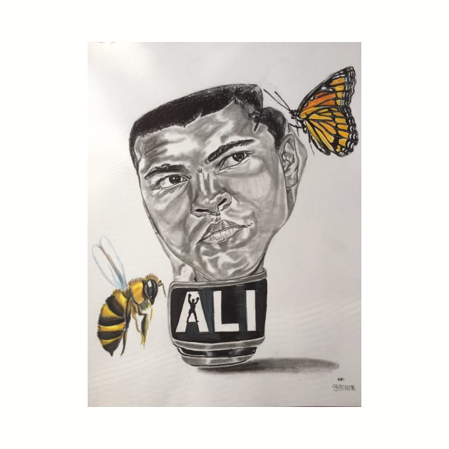 """Float Like a Butterfly, Sting Like a Bee"""