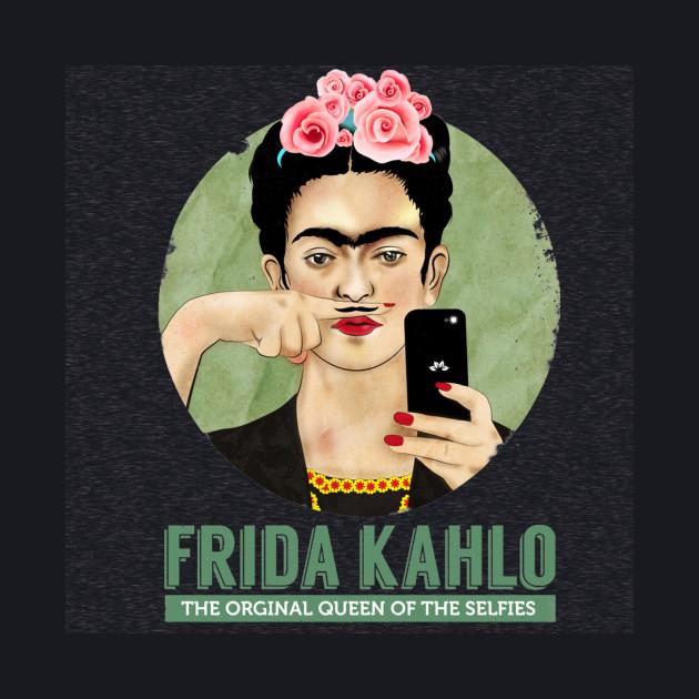 Frida Kahlo The Queen Of Selfie