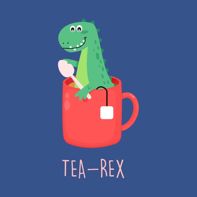 Tea-Rex T-Rex Dinosaur Lover Gift