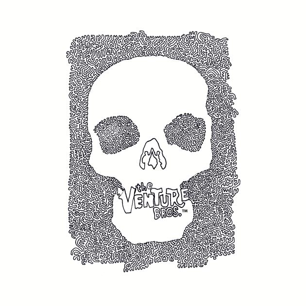 Venture Bros Logo - minimalist drawing