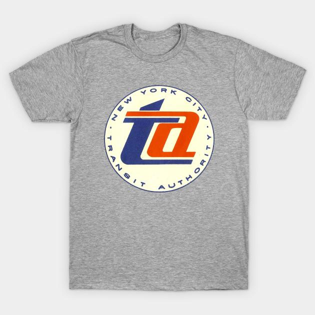 Vintage New York Transit Authority - New York City - T-Shirt  770b323a097