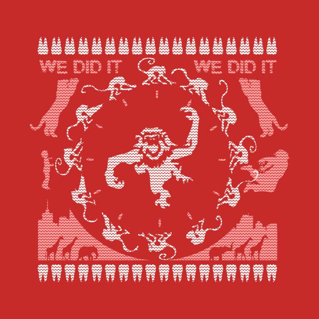 12 Monkeys of Christmas