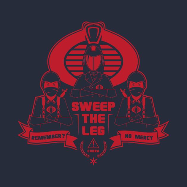 Cobra – Sweep The Leg T-Shirt