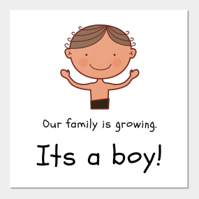 b96462f595430 Expecting Pregnant New Mom Mother Baby Boy Posters and Art Prints ...