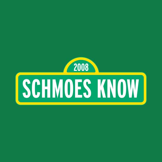 SCHMOES KNOW SESAME STREET DESIGN