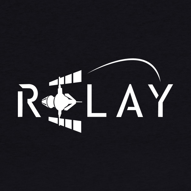 Relay Logo - White