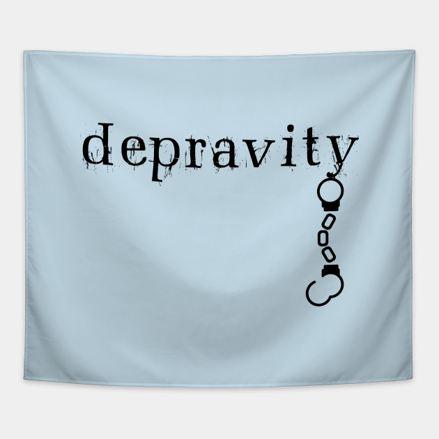 Depravity Handcuffs Hanging Light-Monotone