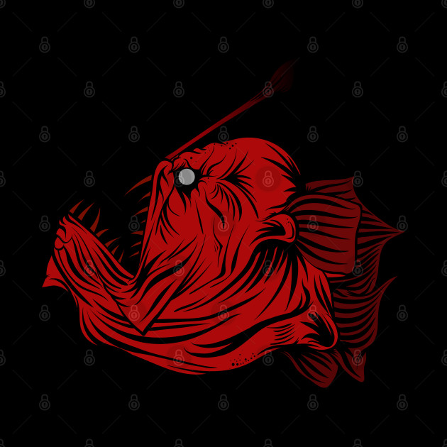 red angler fish