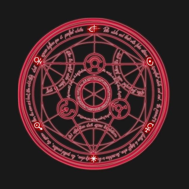 Fullmetal Alchemist Human Transmutation Circle