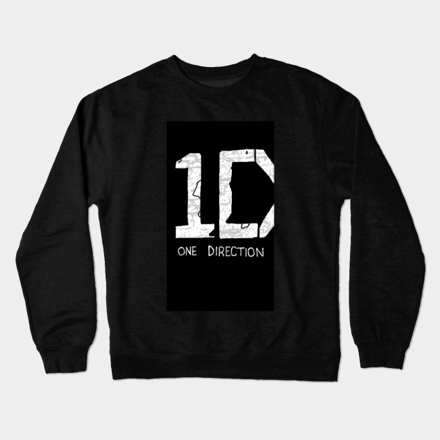 2ff156a911c7 One direction logo - One Direction - Crewneck Sweatshirt