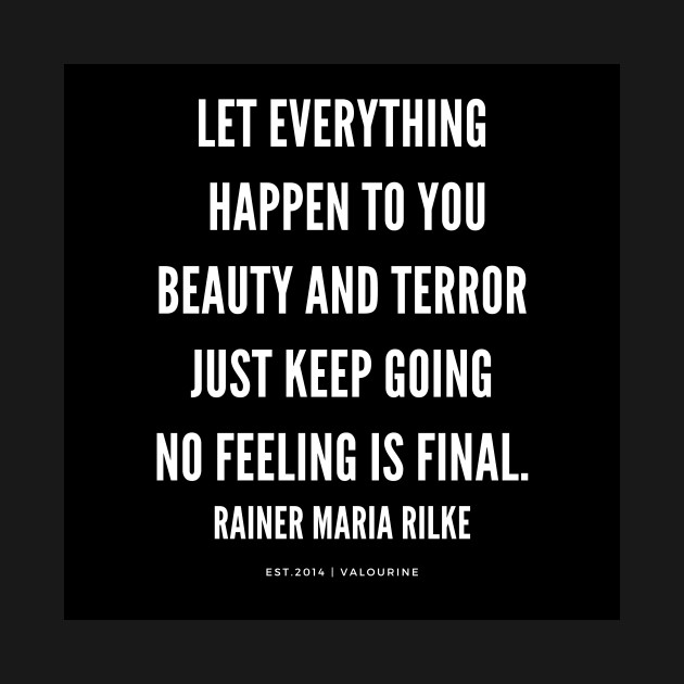 Rainer Maria Rilke Quote Keep Going Motivational Quote Success
