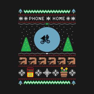 This Christmas, Phone Home t-shirts