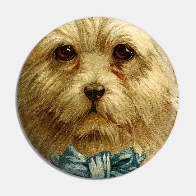 Cute Vintage Dog Illustration / Dog Lover Gift