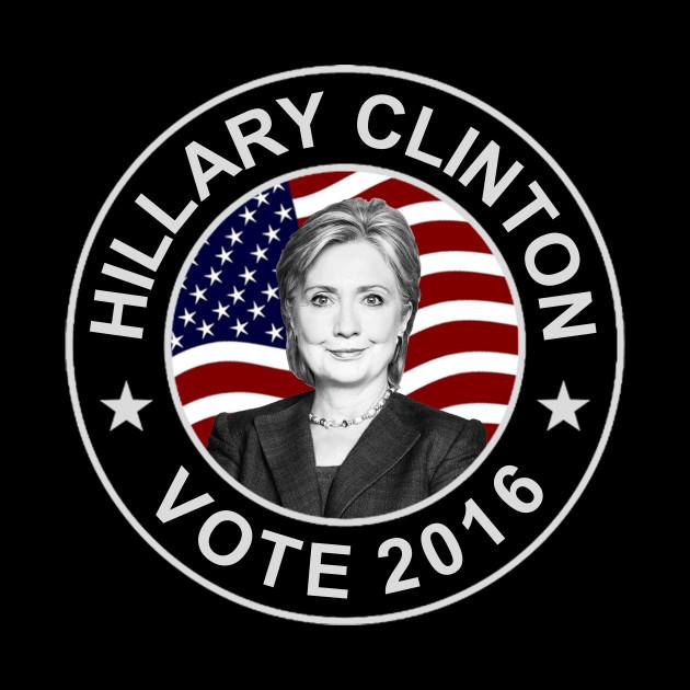 Hillary Clinton US Flag