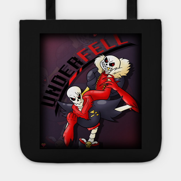 Underfell Sans and Papyrus!