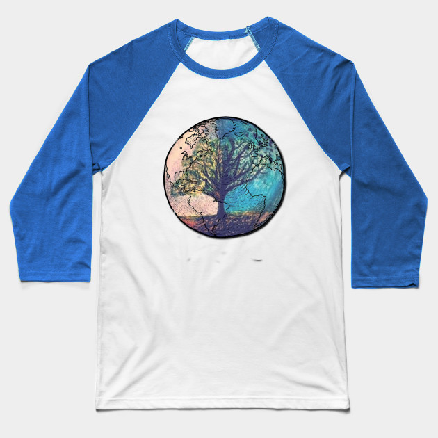 earth life Baseball T-Shirt