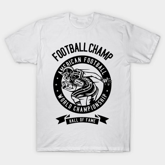 Football Champ 1 Funny Retrto Vintage Humour Movie Music Basic Etc