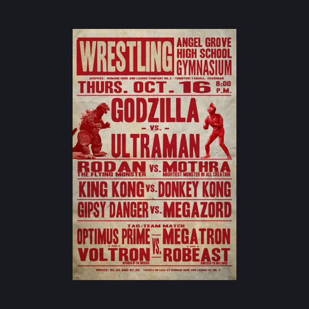 Godzilla vs Ultraman poster