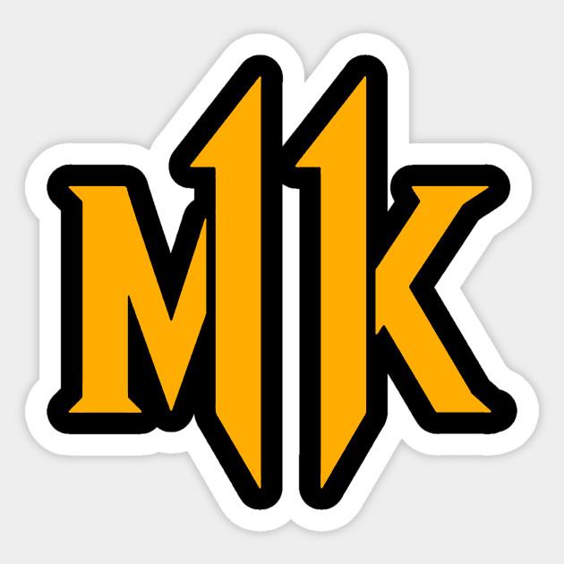Mortal Kombat 11 New Logo 2019 Mortal Kombat 11 Sticker