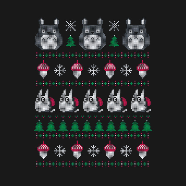 My Neighbor's Ghibli Totoro Ugly Christmas