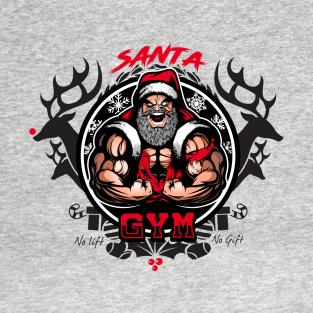 Santa Gym T Shirt