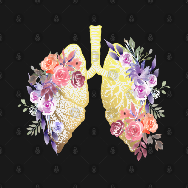 Floral Lungs Anatomy