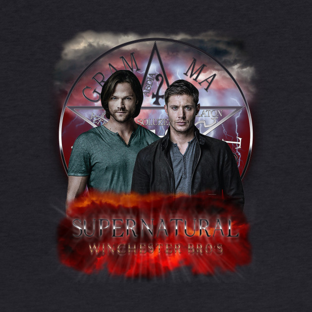 Supernatural Winchester Bros 2 C