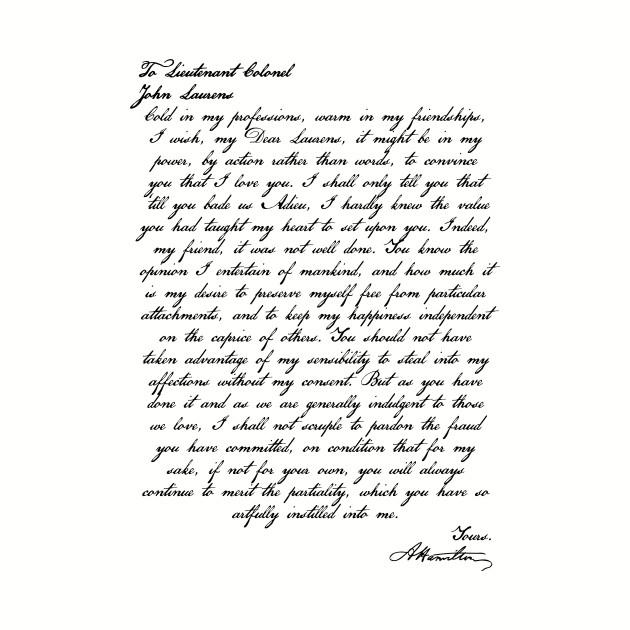 Alex & John letters