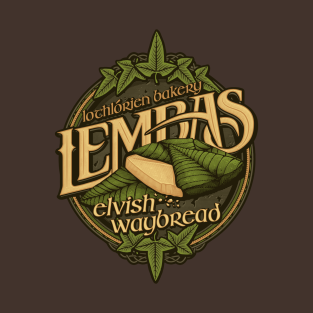 Lembas Bread t-shirts