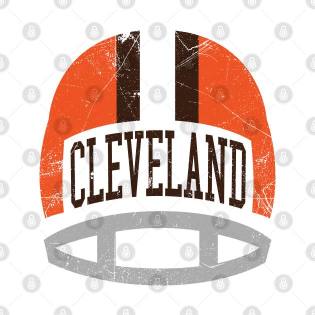 Cleveland Retro Helmet - White