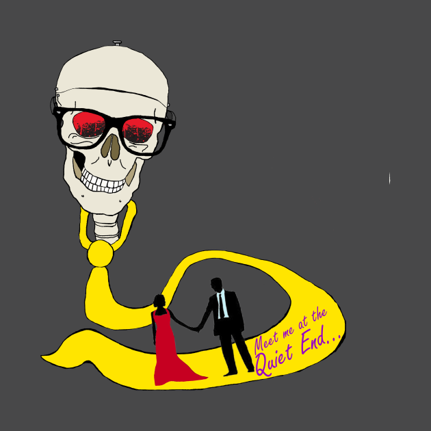 Skull and Tie Path to the Quiet End
