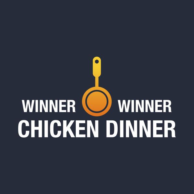 PUBG Gaming Winner Winner Chicken Dinner Adult Hoodie