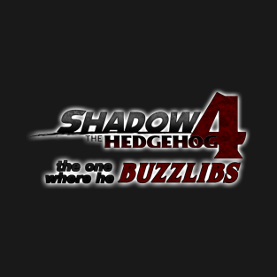Shadow the Hedgehog 4 t-shirts