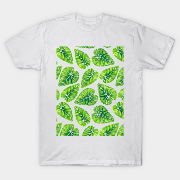 Tropical Leaves Tropical Leaves T Shirt Teepublic Summer tropical turtle leaf palm tree leaves border. teepublic