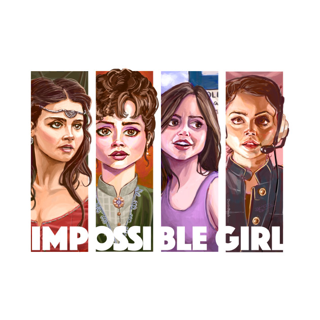 Doctor Who Impossible Girl Clara Oswin Oswald Doctor Who T