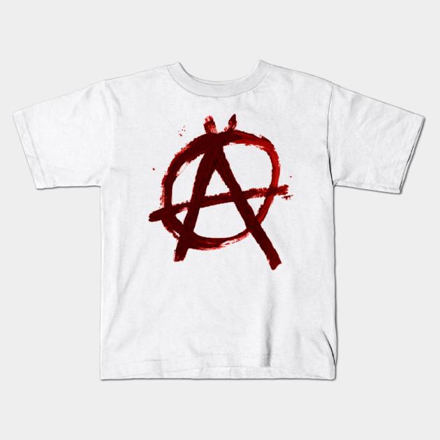 Anarchy Symbol Anarchy Kids T Shirt Teepublic