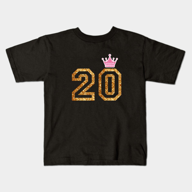 Perfect Birthday Gift For 20 Year Old Girls T Shirt Kids