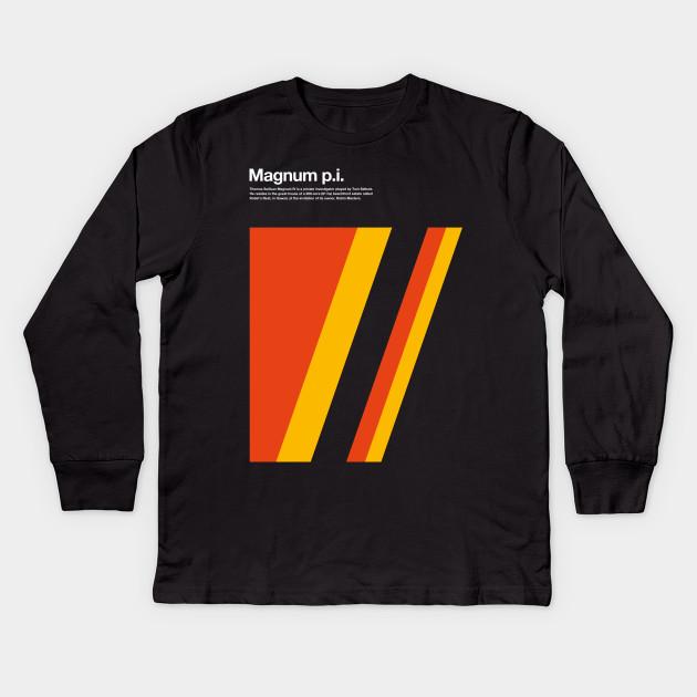 1e8288c6c Men S T Shirt Magnum Pi Inspired Al Telefilm With Tom Selleck. Magnum Pi Tv  Serie Magnum Pi Kids Long Sleeve T Shirt Teepublic
